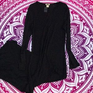 NWT The Limited Long Black Dress